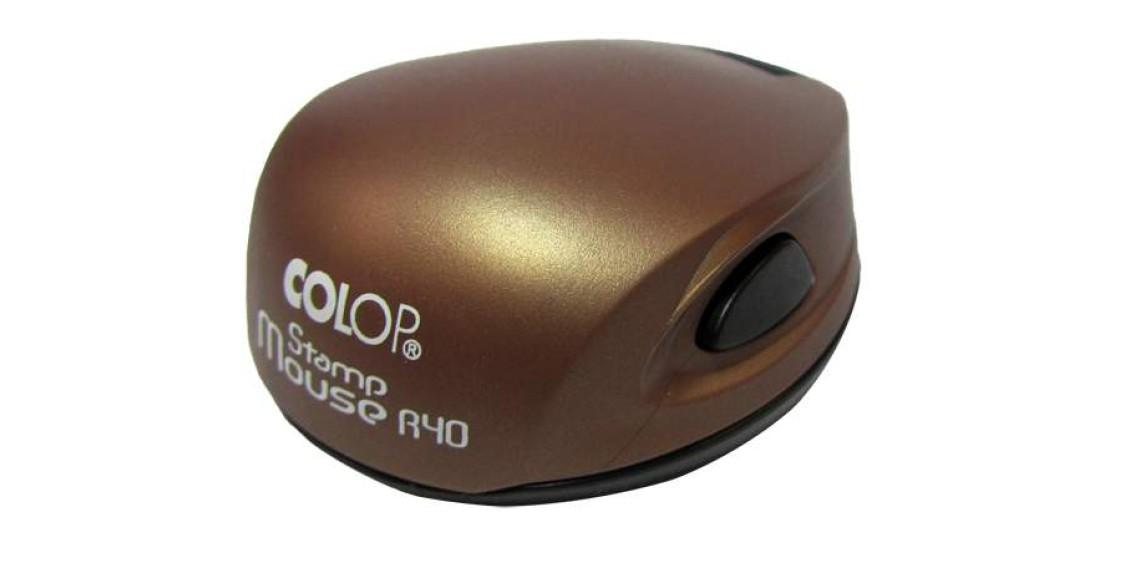 Печать Colop R40 mouse коричневая