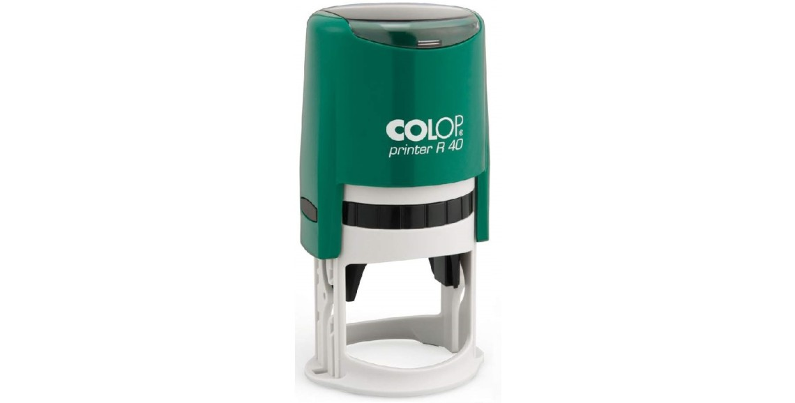Печать Colop R40 зелёная