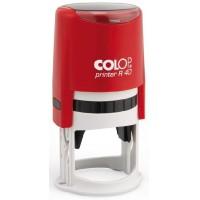 Печать Colop R40 красная