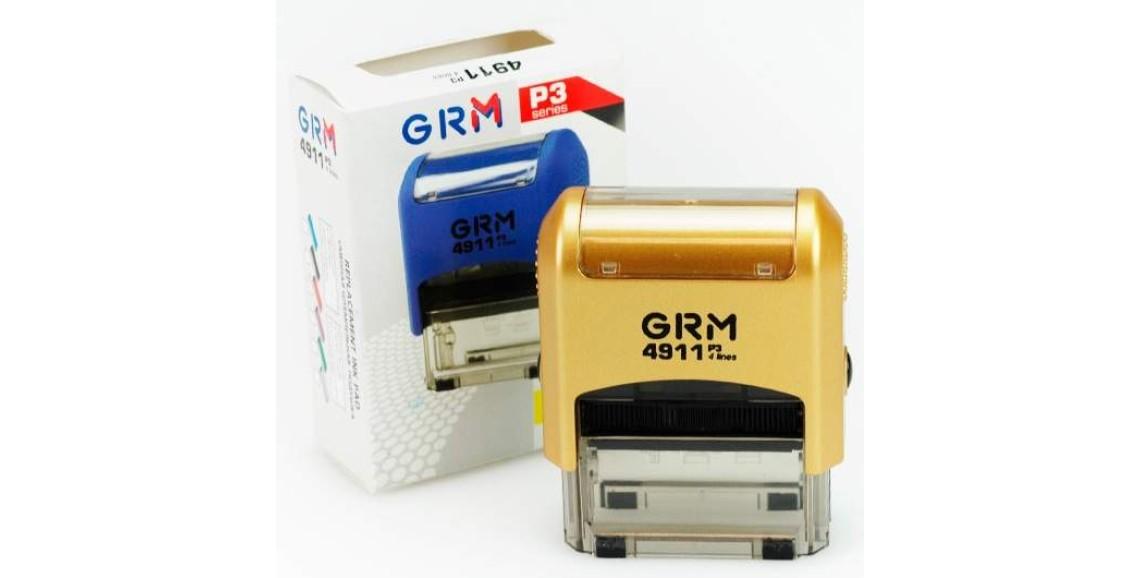 Штамп GRM-4911 (38х14) GOLD в Батайске