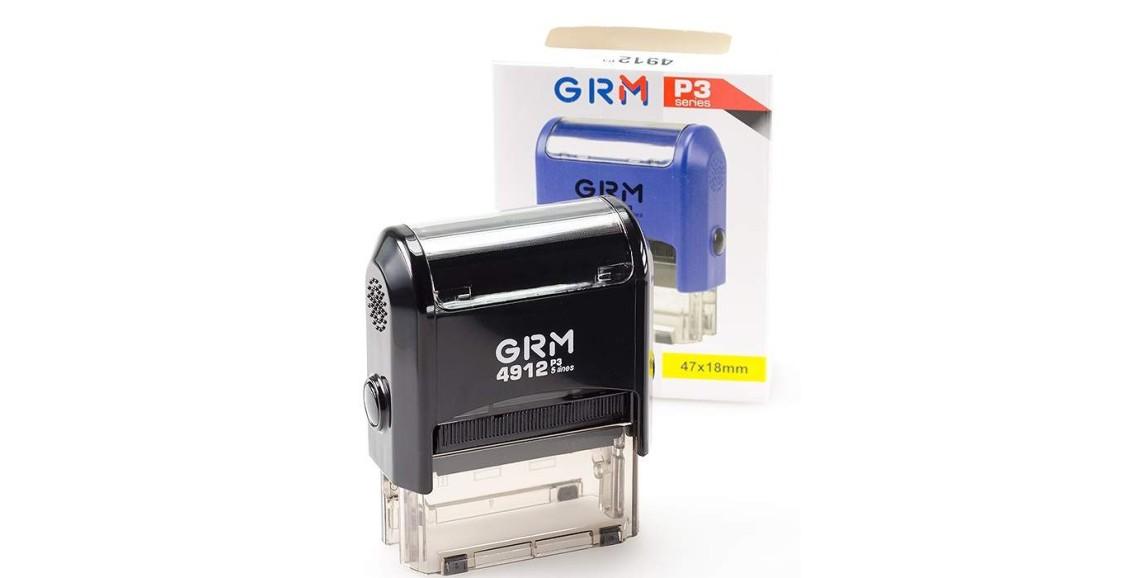 Штамп GRM-4912 (47х18) черный