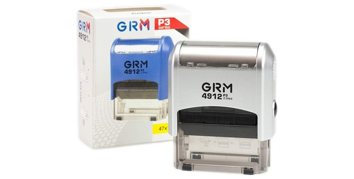 Изготовление штампа GRM-4912 (47х18) silver