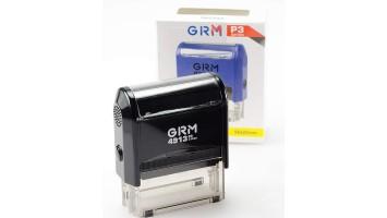Штамп GRM-4913 (58х22) черный
