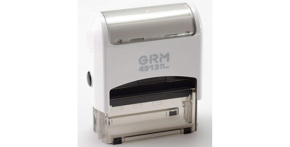 Штамп GRM-4913 (58х22) БЕЛЫЙ