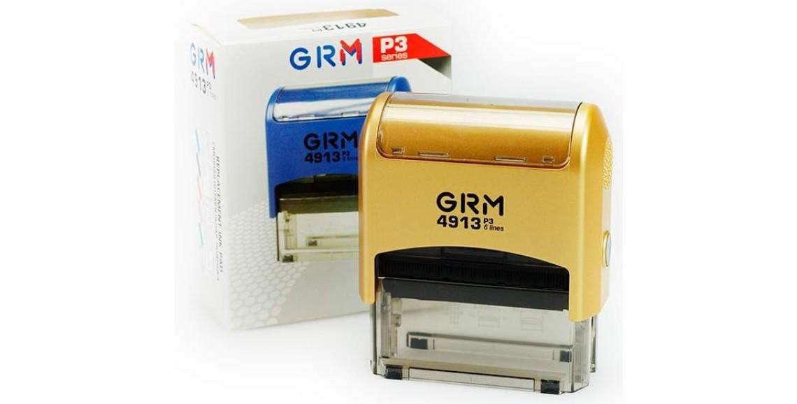 Штамп GRM-4913 (58х22) GOLD
